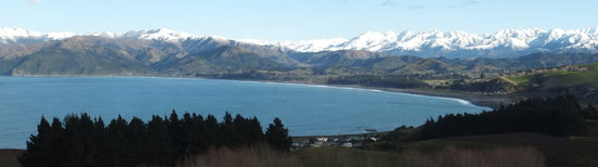 "Austin Heights Scenic Bed & Breakfast: View from the Kaikoura "" Look out"" point"