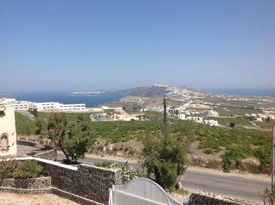 Orizontes Hotel & Villas : Θέα από το δωμάτιο