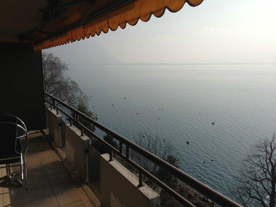 Hotel Royal Plaza Montreux : vue magnifique
