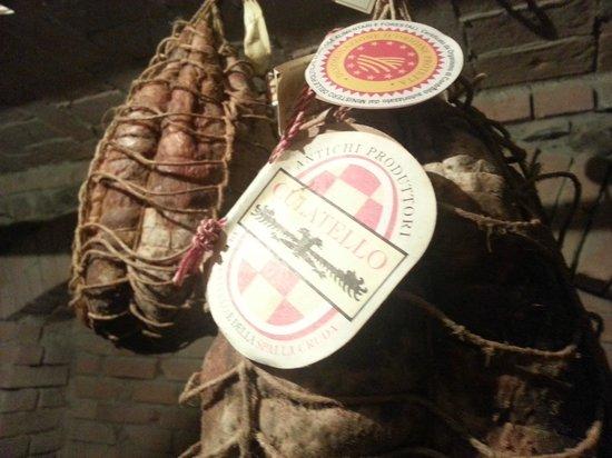 Trattoria Osteria di Fornio: il culatello di Zibello