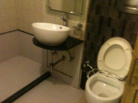 Hotel Amax Inn: Toilet and bathroom
