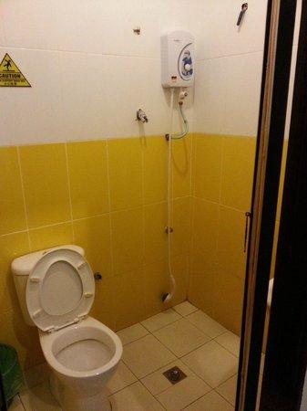 Holiday Dive Inn: toilet