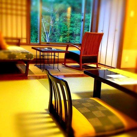 Tokachigawa Onsen: inside the room