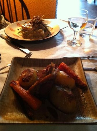 Exquis French Bistrot: canard & saumon