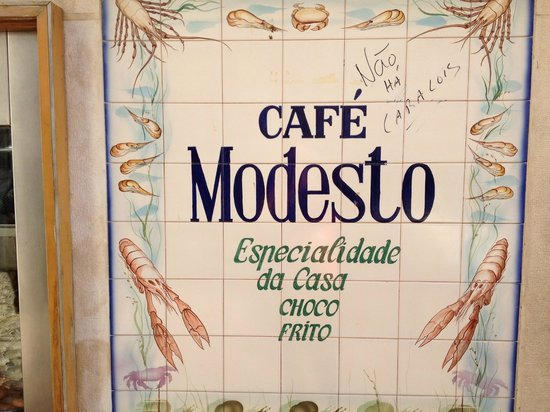 Cafe Modesto: claro o choco é dos melhores