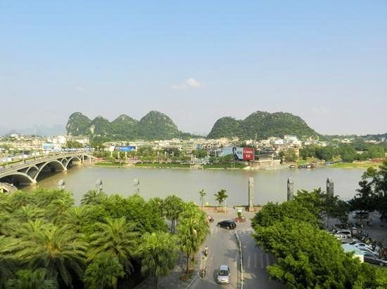 Universal Guilin Hotel: view from room