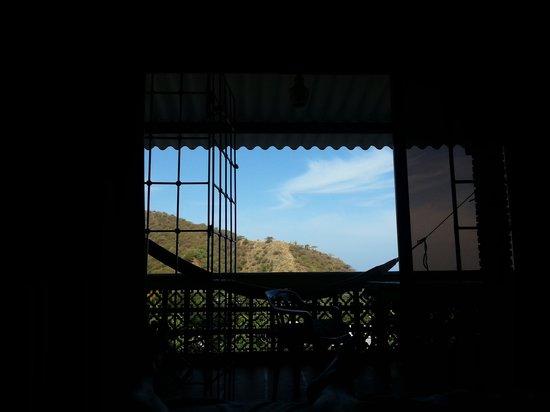 La Casa de Felipe: vue depuis le lit