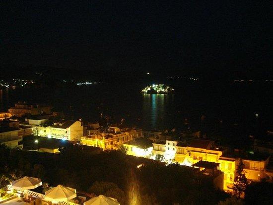 Hotel King Minos: de nuit...