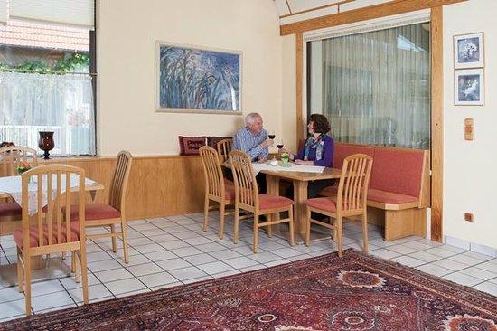 Hotel Kern Buam : Wintergarten