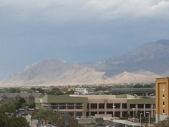 Drury Inn & Suites Albuquerque North: View of Sandia Peak from the room