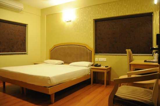 Hotel Sudesh Tower : This is  my room where I stayed