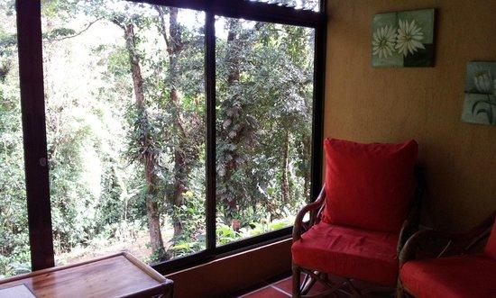 Hotel Trapp Family: Terraza de habitacion