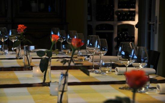 Manoir Kasselslay Hotel-Restaurant : La Table d'Hôte