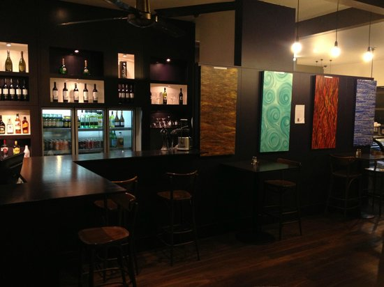 Talk of The Town: Bar Area always fully stocked and open late on Saturdays and Sundays