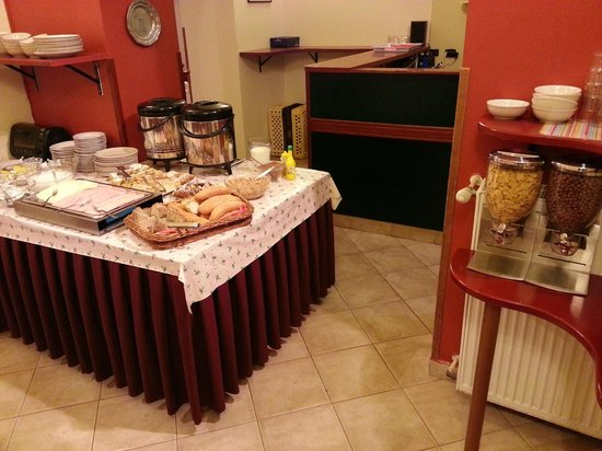 Residence Vitkova Apartments : Breakfast