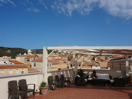 Hotel Excelsior : Panoramic terrace (Solarium)