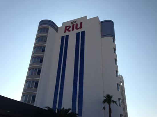 Hotel Riu Nautilus: Blick vom Haupteingang