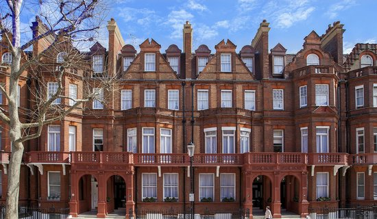 The Apartments by The Sloane Club: View from the peaceful Sloane Gardens
