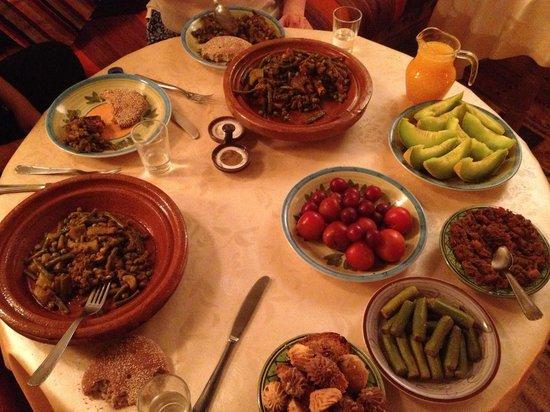 Douarskoll: Dinner
