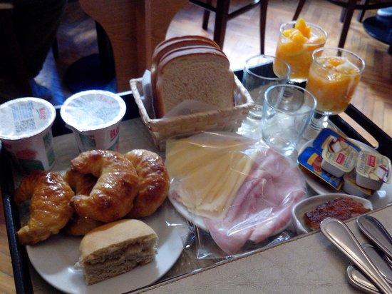 Le Vitral Baires Boutique Hotel: Café da manhã