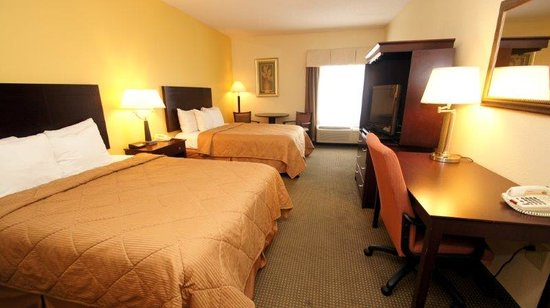 Comfort Inn & Suites: 2 Queen Bed Standard