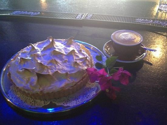 Wharfside Cafe : Housemade Lemon meringue pie.. by chef Roxy McDonald