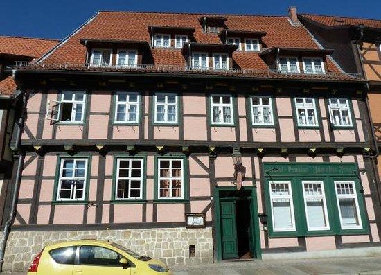 hotel alten fritz quedlinburg tyskland hotel anmeldelser sammenligning af priser. Black Bedroom Furniture Sets. Home Design Ideas