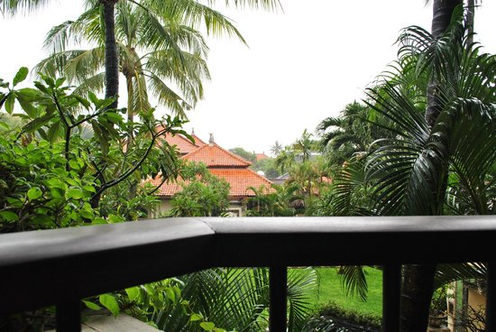 The Tanjung Benoa Beach Resort Bali: view from the balcony