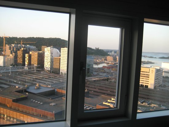 Radisson Blu Plaza Hotel, Oslo: view from room