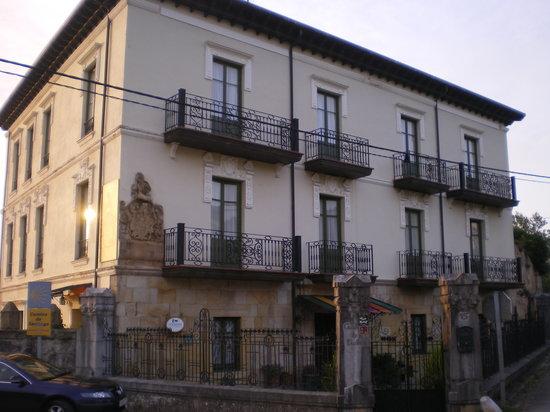 fachada principal Posada Casa de Valle