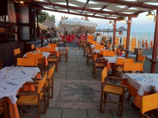 Malibu Beach Bar: posti esterni