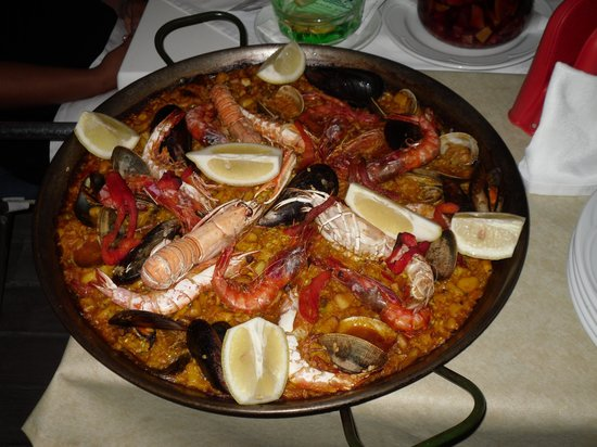 Port Blau: paella 2