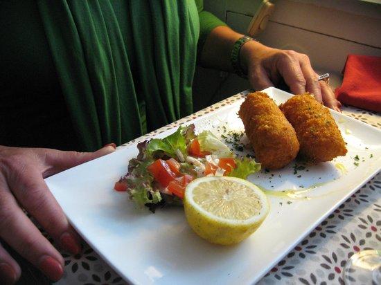 Au P'tit Bonheur : croquettes crevettes