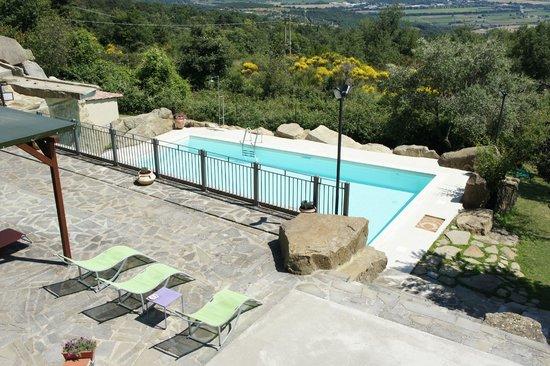Villa Sensi : The pool