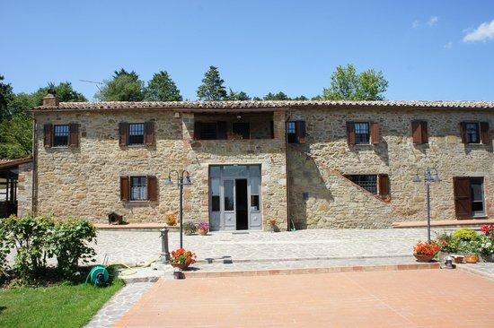 Villa Sensi : Main building