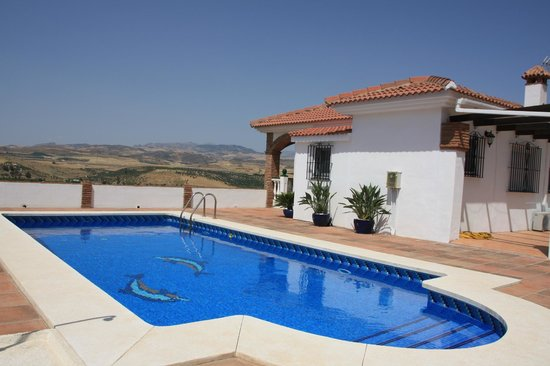Alora Valley View Accommodations: Pool side
