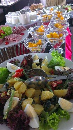 The Gourmet Corner Restaurant: Breakfast buffet