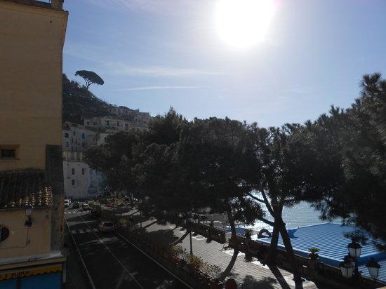 Residence Hotel: vista dalla terrazza della colazione