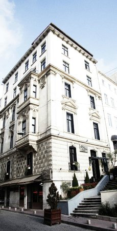 Galata Antique Hotel: Hotel Building