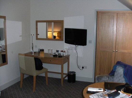 Quy Mill Hotel & Spa, Cambridge, BW Premier Collection: Work station room 404
