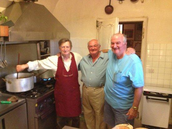 Bioagriturismo Orgiaglia: Franco masterchef and friends