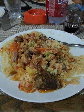 Bagno Vacanze: cous cous