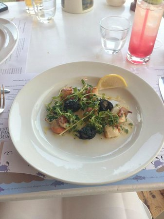 Hix Oyster & Fish House : Scallops