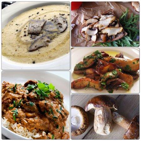Red Lake Inn: Penny bun mushroom dishes