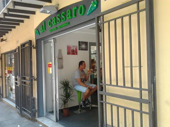 Gelateria Al Cassaro: esterno