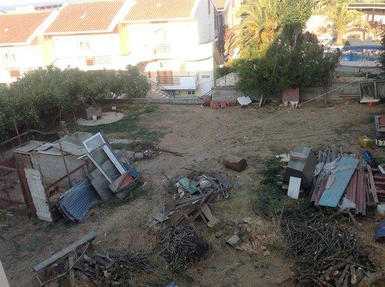 Selini Suites : Vue du balcon