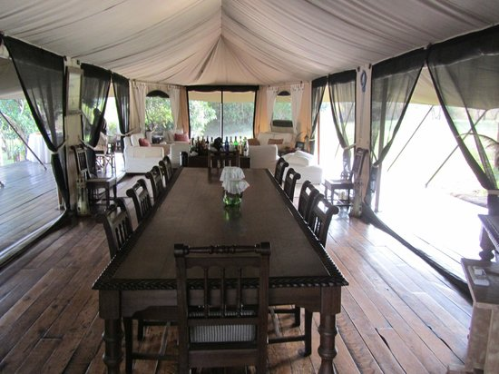 Ngare Serian: The dining room