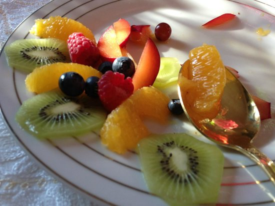 Begbroke, UK: Fruit salad