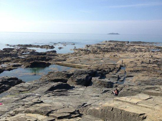 Pols Piece Holidays: Natural swimming pool