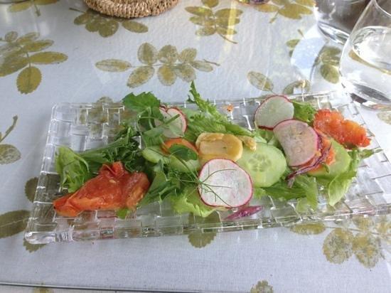 Uppalan kartano: green salad